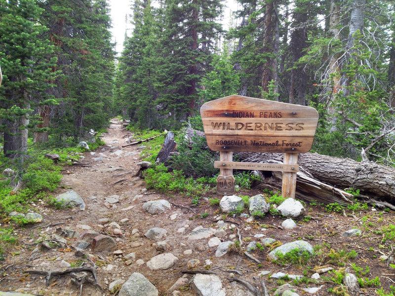 The gateway to Wilderness.