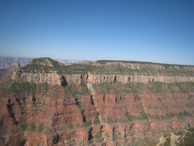 Grand Canyon's impressive walls