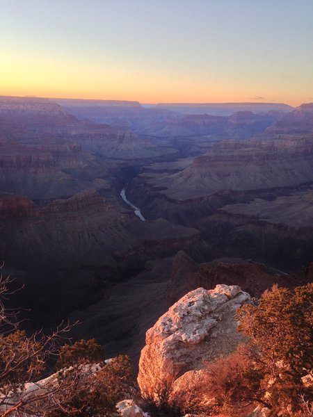 View of Colorado River from Hopi Point