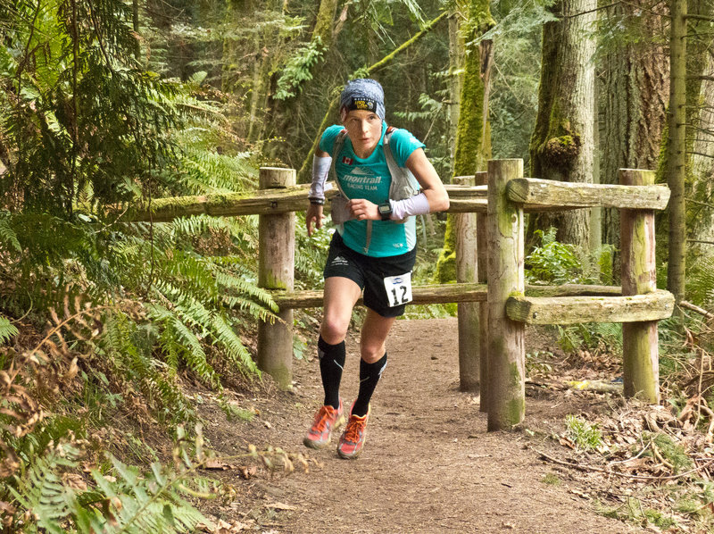 On the hunt in the 2014 Chuckanut 50k