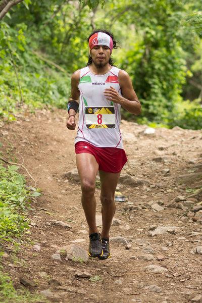 Finishing up the 2014 Chupinaya Mountain Race