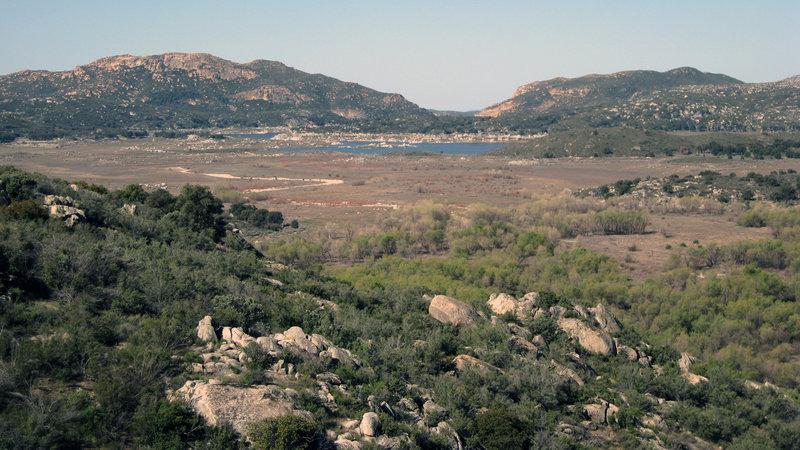 Lake Morena Ahead