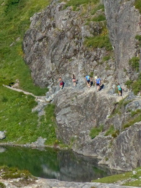 Group on the Chain Lakes loop