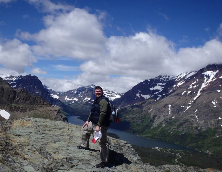 This was a couple of miles into the Scenic Point, Mount Henry Trail hike in Glacier National Park.