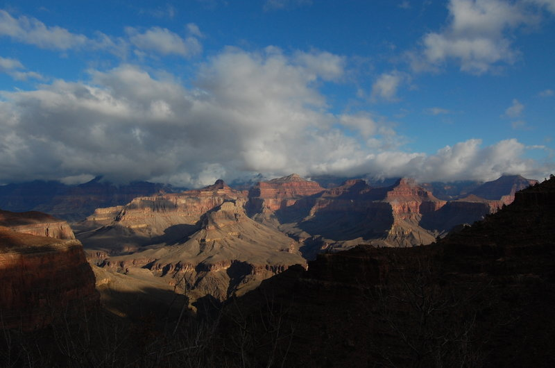 The stunning view from Hermit Trail.