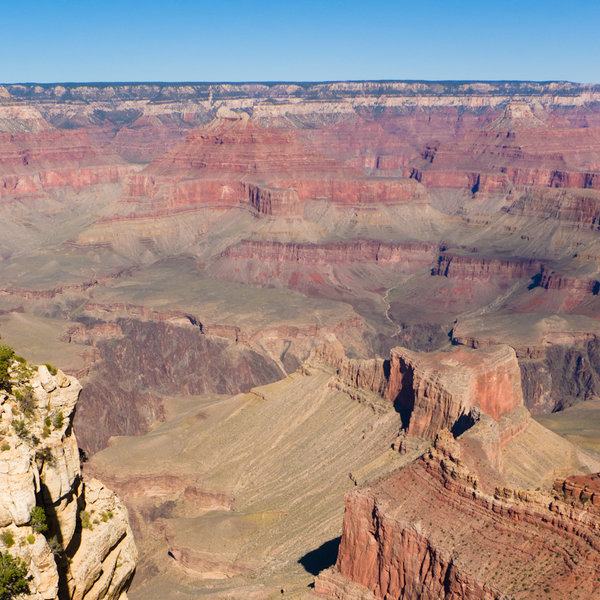 Basal unconformity - the view from The Rim.