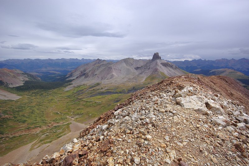 Cross Peak Ridge Walk and Lizard Head.