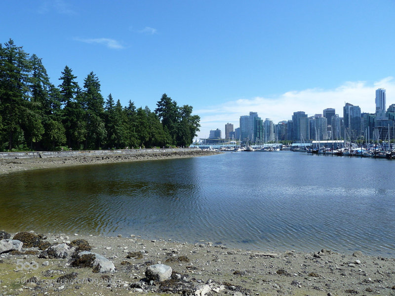 View from the Seawall.
