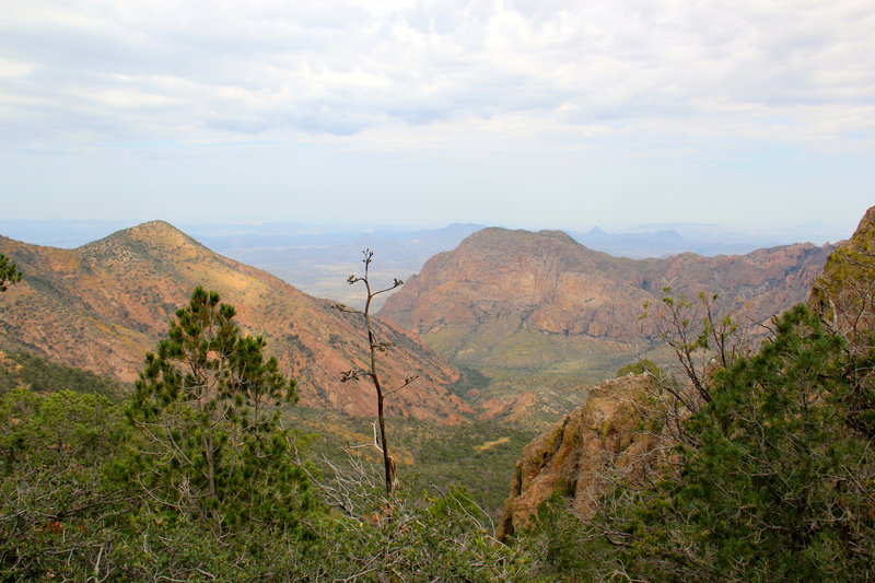 Pinnacles Trail overview