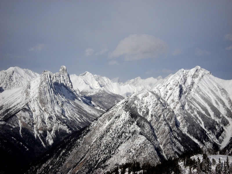 Mt. Edith and Cory Pass.