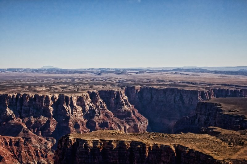 View of the Grand Canyon from the Cape Solitude Trail