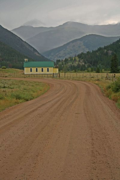 The road to Rollins Pass