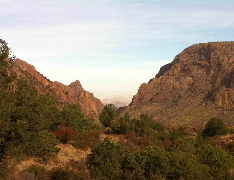 The Window, Chisos Mountains