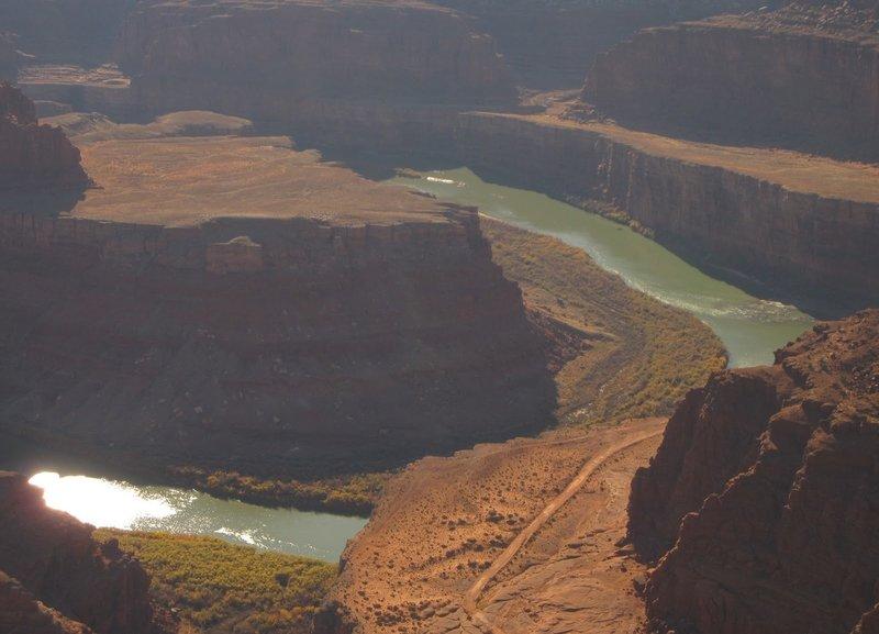 Colorado River below