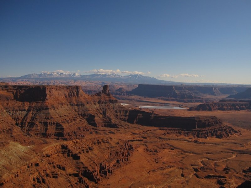 Afternoon view from the Dead Horse Point Trail