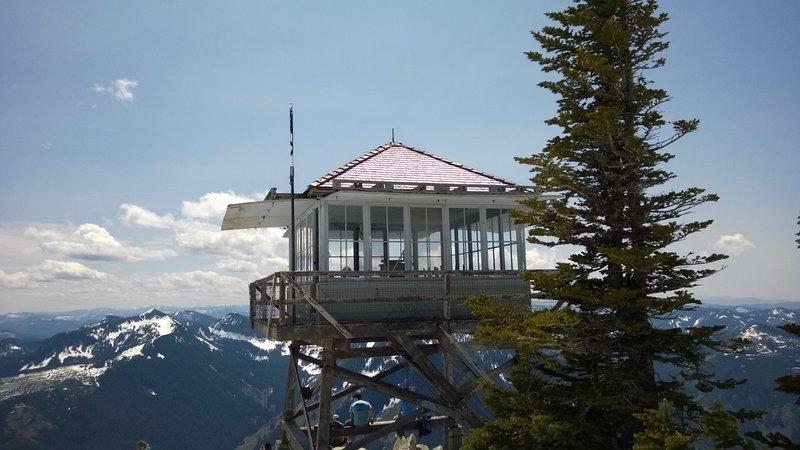 Granite Mt fire lookout