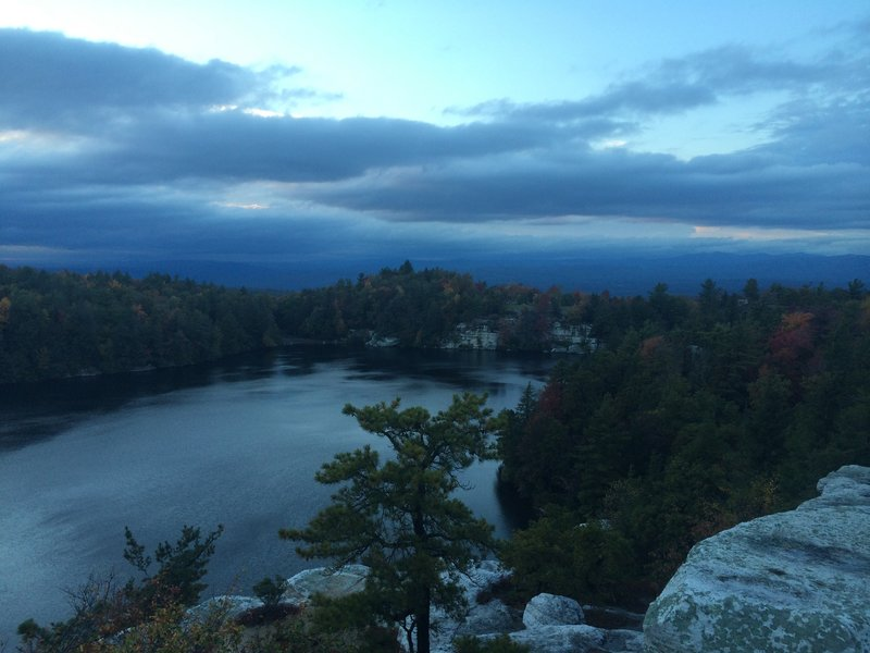View of Lake Minnewaska from the picnic area