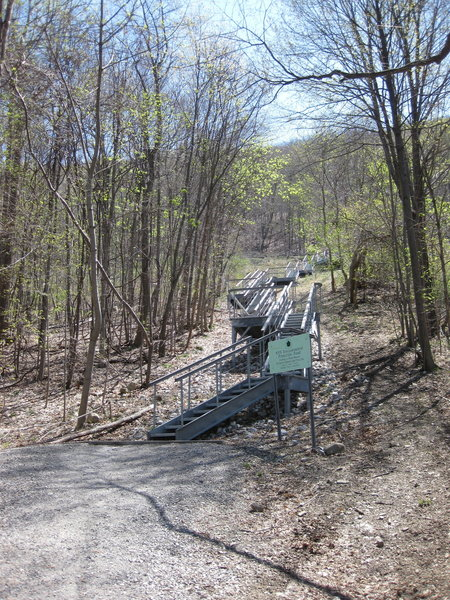 Now THIS is sustainable trail.