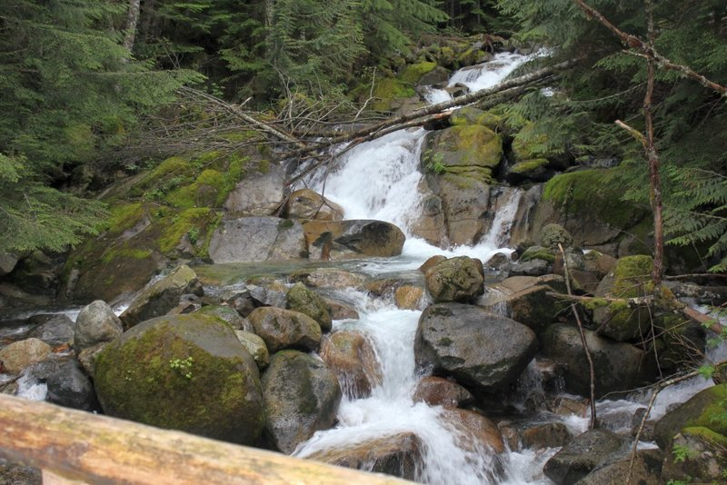 A nice falls on Humpback Creek.
