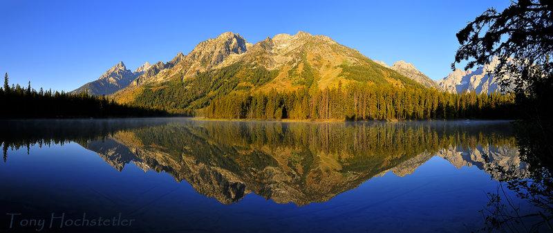 String Lake Panorama - Explored