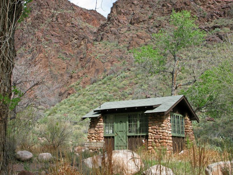 Grand Canyon: Phantom Ranch Cabin.