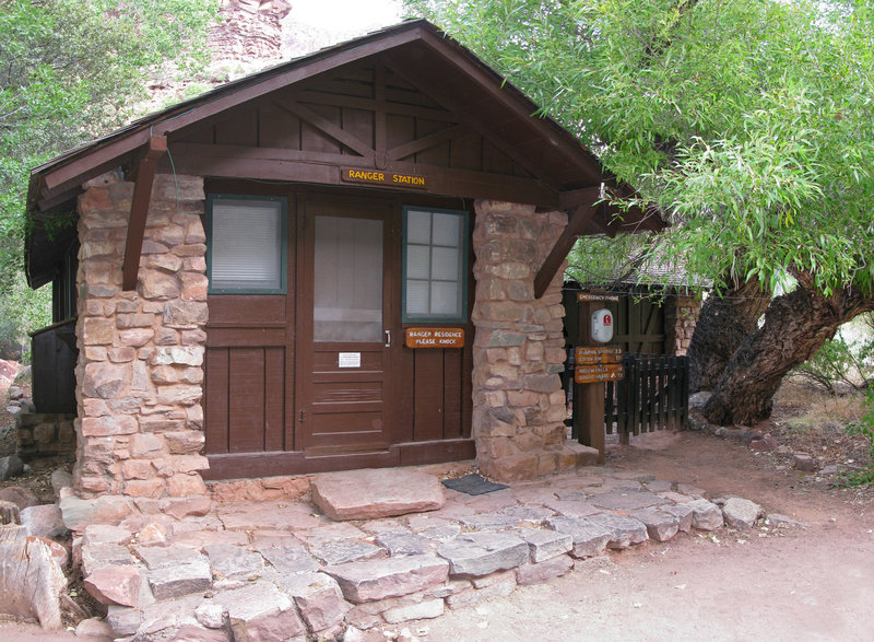 Grand Canyon: Historic Cottonwood Campground Ranger Station.