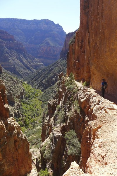 On the gorgeous North Kaibab trail