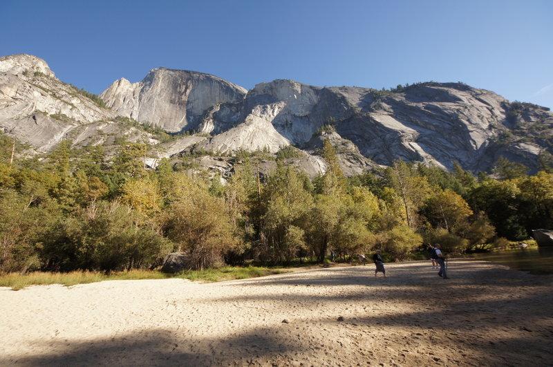 Yosemite National Park, Mirror Lake Trail