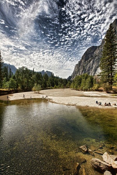 The mighty Merced River.