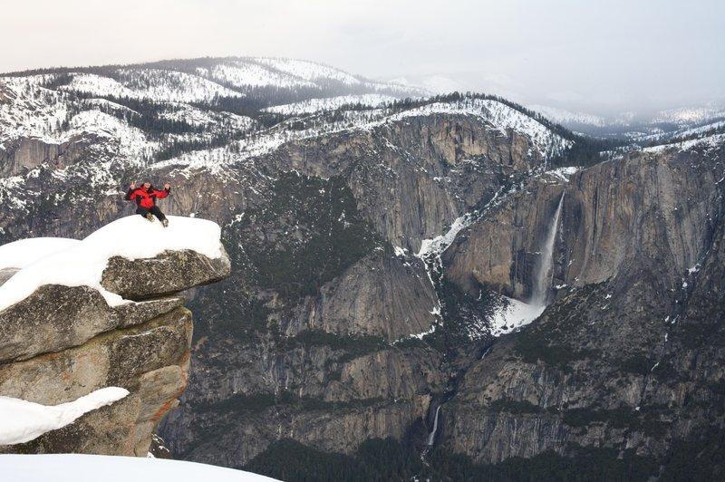 Glacier Point in Winter