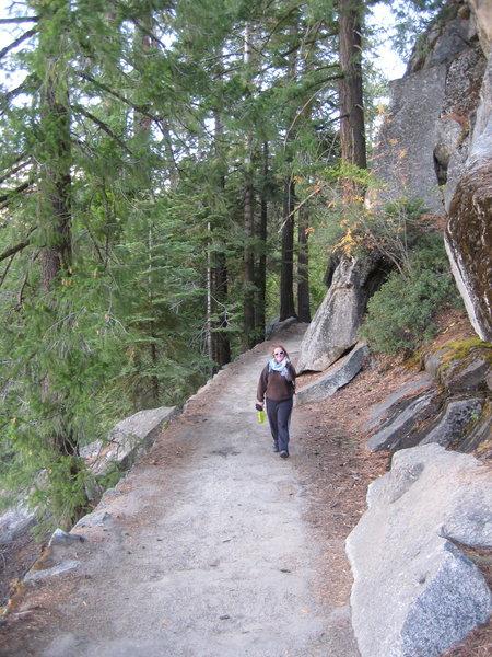 Strolling along the John Muir Trail