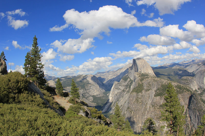 View from Panorama Trail near Glacier Point.