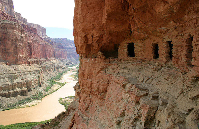 Grand Canyon National Park: Colorado River Nankoweap Granaries