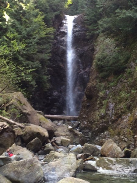 Norvan Falls in May