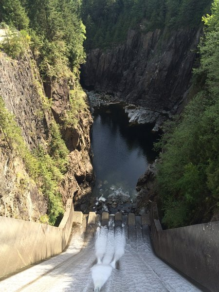 The Cleveland Dam Spillway