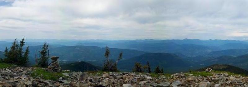 Abercrombie Mountain summit panorama