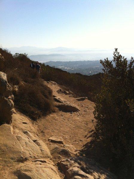 Cowles Mountain Trail.