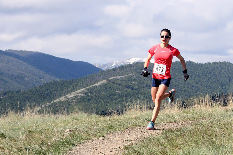 Women's leader at 2015 Don't Fence Me In 30k
