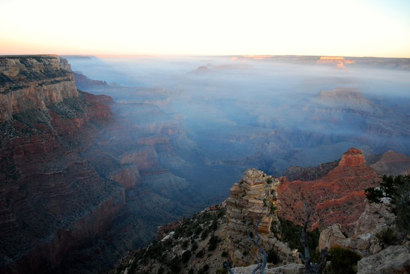 View from Yaki Point.