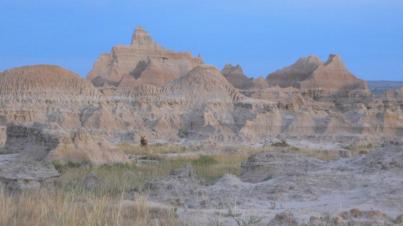 Badlands along Castle Trail