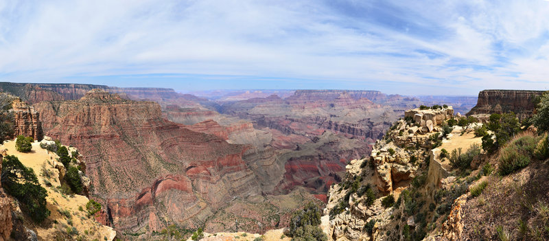 Grand Canyon National Park: South Rim - Panorama
