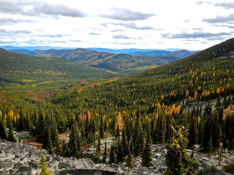 Views from Kettle Crest Trail