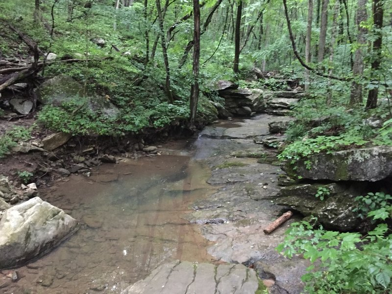 Stream on Natural Well