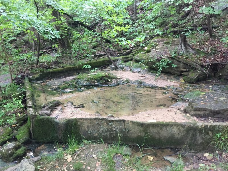 Old Cistern, from the pioneer days.  Could possible predate the Civil War.