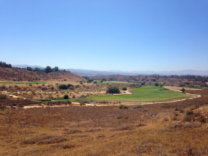 Another beautiful view of Rustic Canyon.