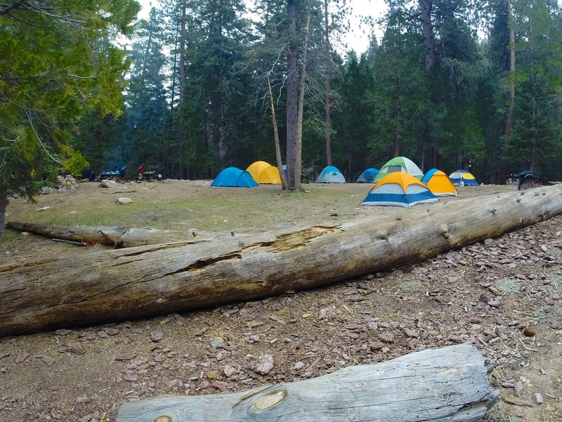 Another view of Cooper Canyon Trail camp.