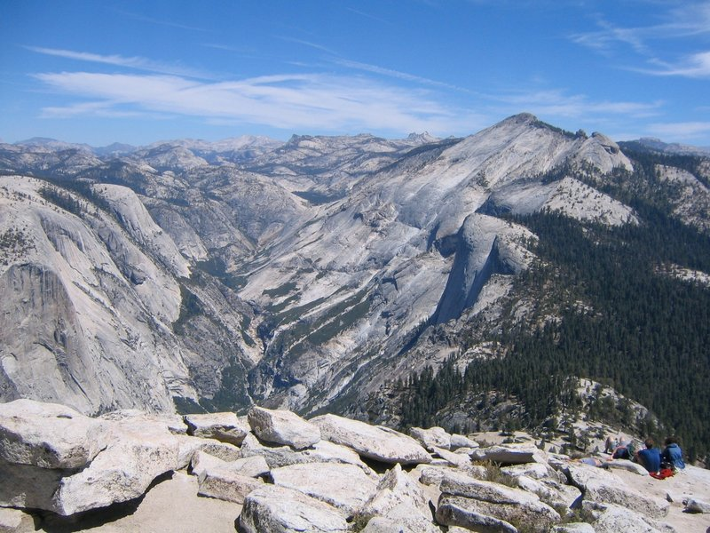 Not a bad view of Yosemite Valley from the top of Half Dome.