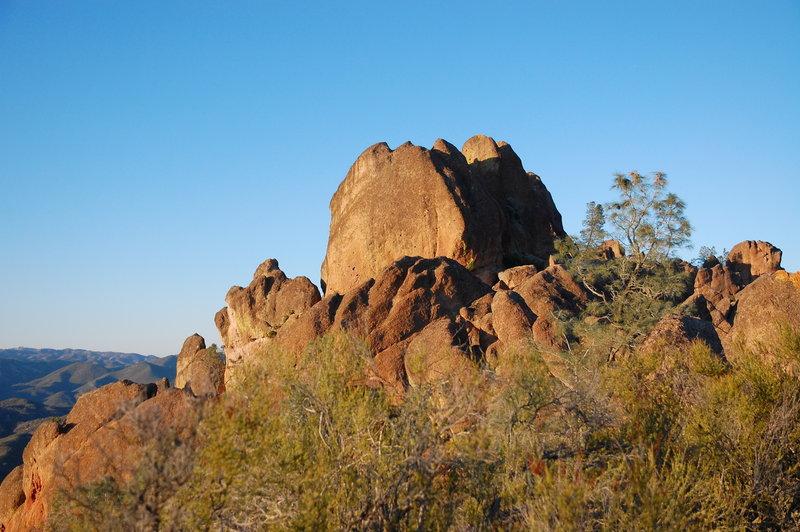 The monolith.