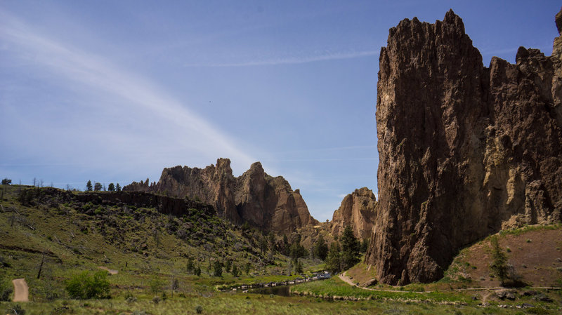 Smith Rock and Gray Butte
