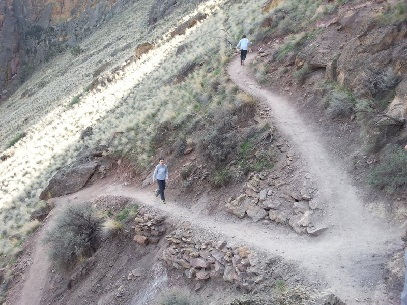 Switchbacks at Smith Rock